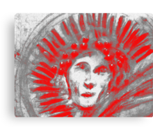 Icarus Red Canvas Print