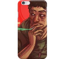 Down and Out iPhone Case/Skin