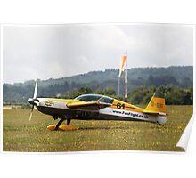 Extra 300 aerobatic plane Poster