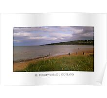 The East Sands Of St. Andrews Beach. Poster