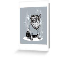 Spug BW Greeting Card
