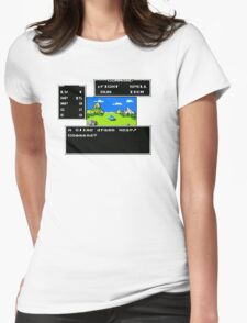 A Slime Draws Near Womens Fitted T-Shirt