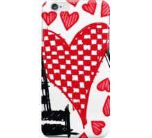 Freehand Sketch Love Letter iPhone Case/Skin