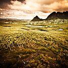 Moody Cradle Mountain by Arek Rainczuk