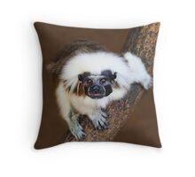Tamarin  Throw Pillow