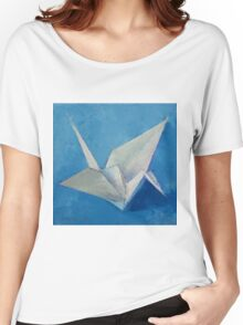Origami Crane Women's Relaxed Fit T-Shirt