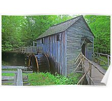 Cable Mill in Cades Cove Poster