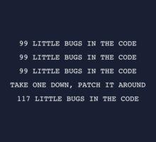 99 LITTLE BUGS IN THE CODE by prav0989