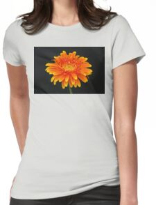 A Flower Portrait Womens Fitted T-Shirt