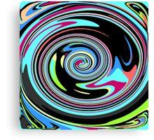 Warped Mind Canvas Print