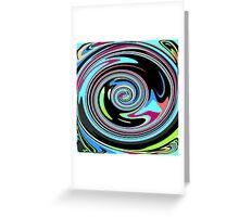 Warped Mind Greeting Card