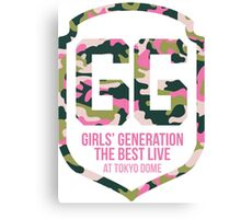 Girls' Generation (SNSD) The Best Live at Tokyo Dome Shield Canvas Print