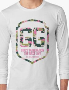 Girls' Generation (SNSD) The Best Live at Tokyo Dome Shield Long Sleeve T-Shirt