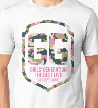 Girls' Generation (SNSD) The Best Live at Tokyo Dome Shield Unisex T-Shirt