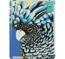 Black Cuckatoo iPad Case/Skin