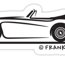 Austin Healey  3000 MK II Sticker