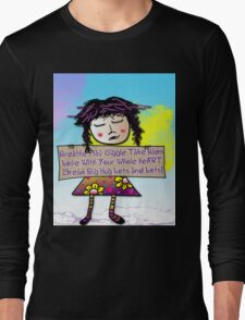 Zelda's Advice... Long Sleeve T-Shirt