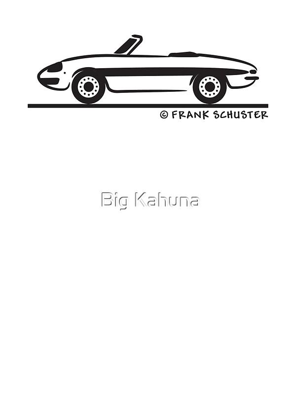 u0026quot alfa romeo spider duetto u0026quot  stickers by frank schuster