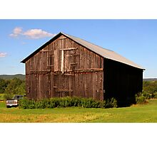 A Barn Photographic Print