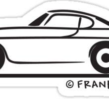 Volvo P1800 Coupe Sticker