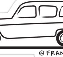 Renault R4 Quatrelle Sticker