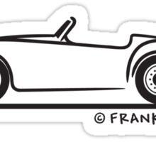 MG A Sticker