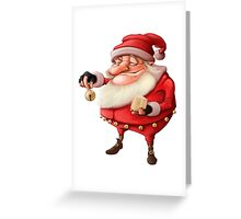 Santa's Bell Greeting Card