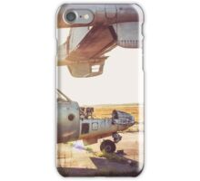 Military Airplane Abandoned  iPhone Case/Skin