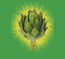 Art Artichoke Kids Tshirt by Bradjames
