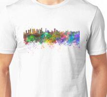 Belem skyline in watercolor background Unisex T-Shirt
