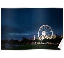View from Jardin des Tuileries Poster