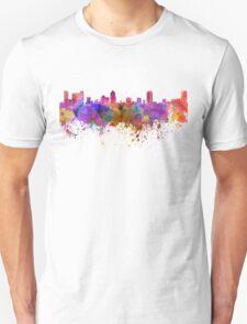 St Petersburg skyline in watercolor background Unisex T-Shirt