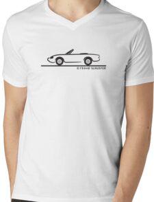Alfa Romeo Spider Mens V-Neck T-Shirt