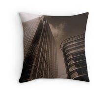 Canary Wharf 5, London Throw Pillow