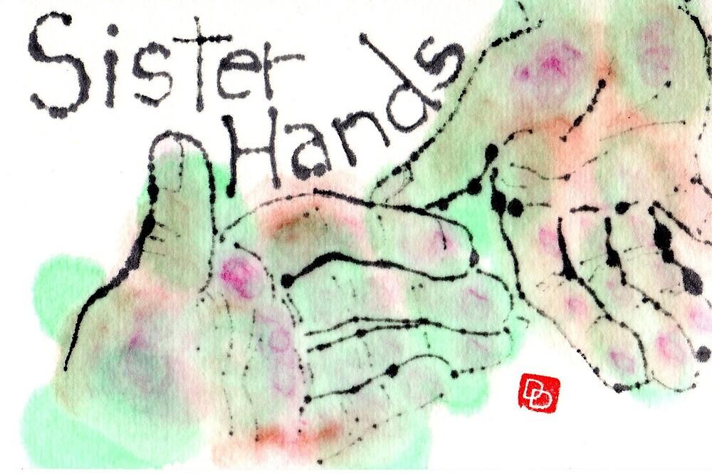 Sister Hands by dosankodebbie