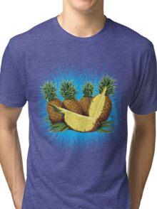 Art Pinapple Kids Tshirt Tri-blend T-Shirt