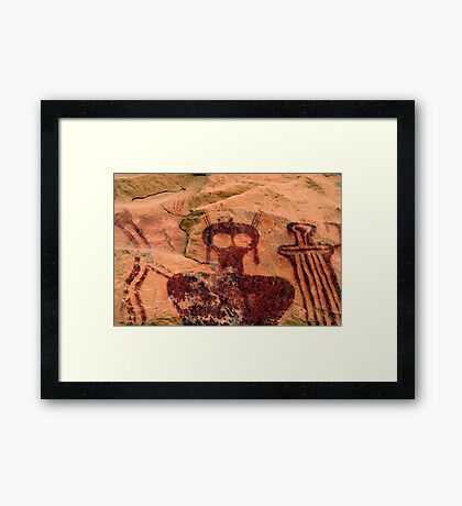 Ghosts from the past Framed Print