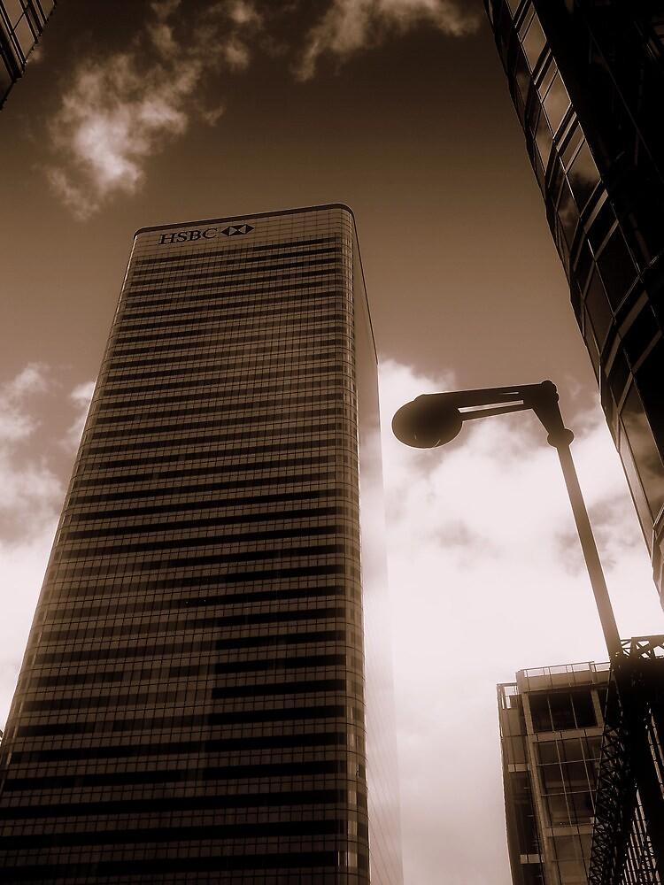 HSBC, Canary Wharf, London, England, UK by Chris Millar