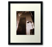 HSBC, Canary Wharf, London, England, UK Framed Print
