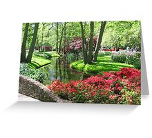 Keukenhof gardens Greeting Card