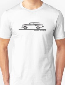 1957 Chevrolet Nomad Bel Air Unisex T-Shirt