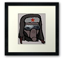 Red Scout Framed Print