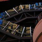 inside shot. melb central - melbourne by tim buckley | bodhiimages