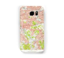 Massachusetts  USGS Historical Topo Map MA Newton 350374 1956 24000 Samsung Galaxy Case/Skin