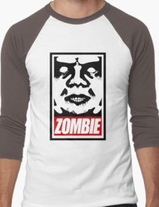 zOmBEY Men's Baseball ¾ T-Shirt
