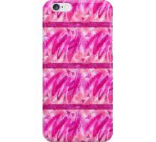 Vibrant Pink Fun Feather Design iPhone Case/Skin