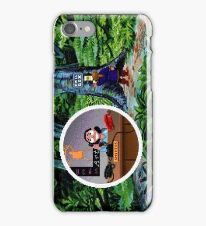 Lucas Arts call center (Monkey Island 2) iPhone Case/Skin