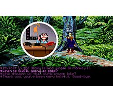 Lucas Arts call center (Monkey Island 2) Photographic Print