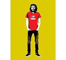 Hipster Che Photographic Print