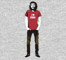 Hipster Che Guevara One Piece - Long Sleeve